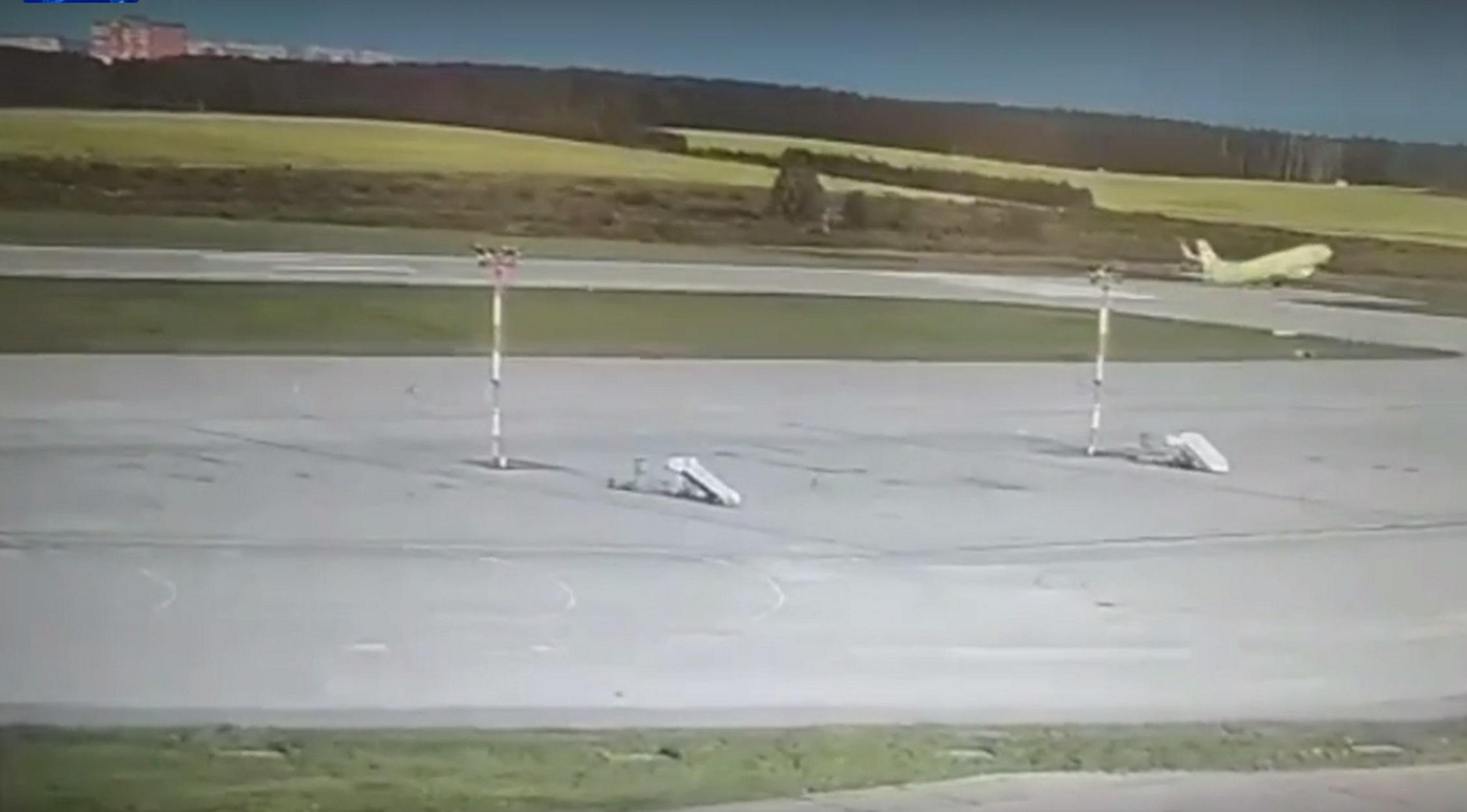 Ρωσία: Στο παρά 1' αποφεύχθηκε αεροπορική τραγωδία - Boeing έχασε τον έλεγχο στην απογείωση!