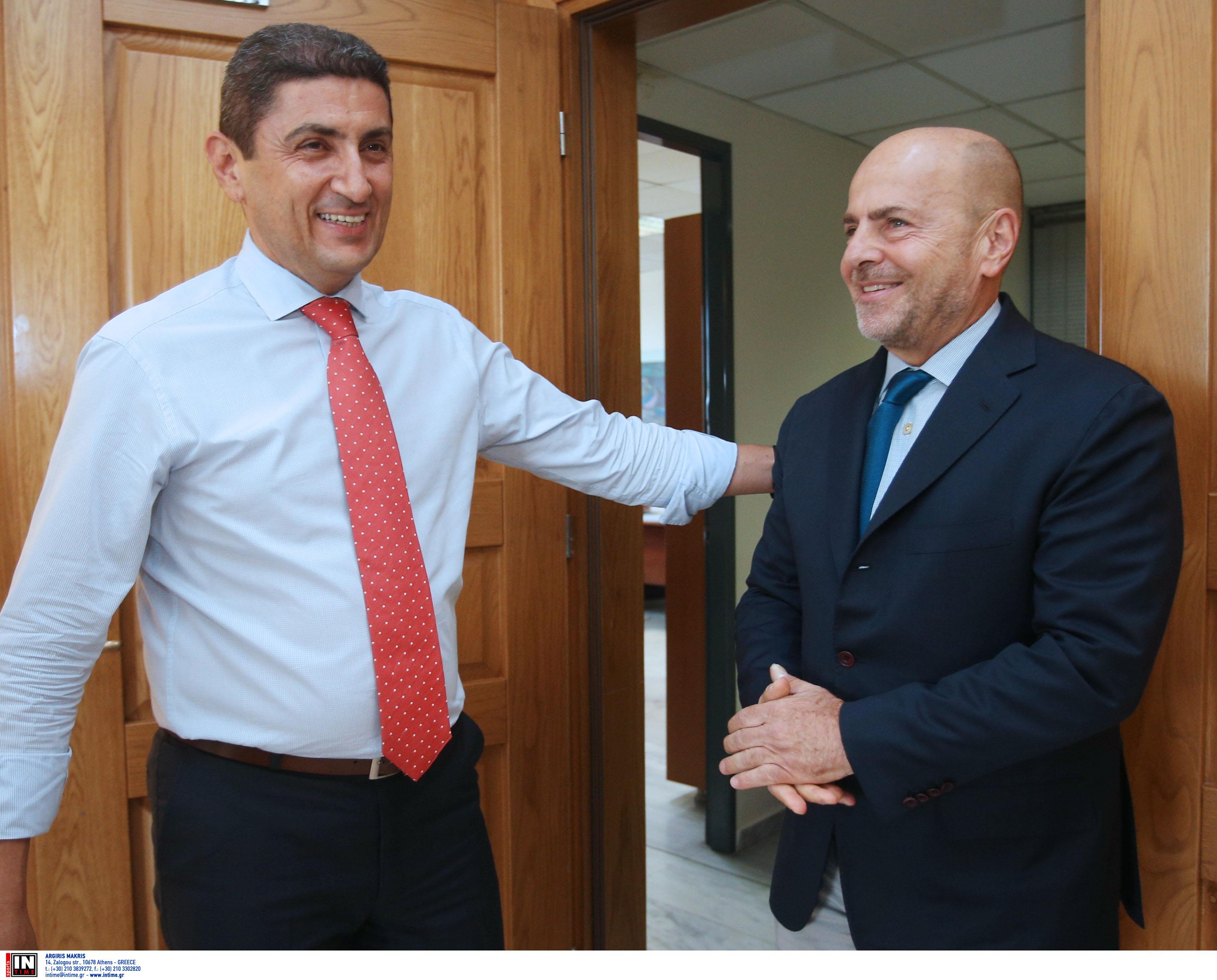 Παναθηναϊκός – Αλαφούζος: Μείωση φορολογίας ζήτησε από τον Αυγενάκη!