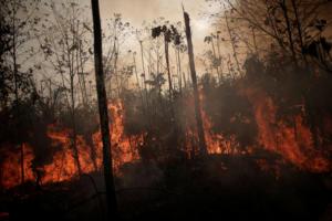 Αμαζόνιος: Οι ινδιάνοι κατηγορούν Μπολσονάρο για τη φωτιά