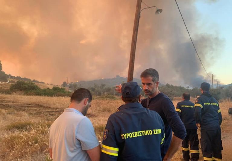 Μπακογιάννης: Πάμε για νύχτα μάχης στην Εύβοια