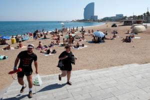 Βαρκελόνη: Σε αυτήν την παραλία βρέθηκε ο εκρηκτικός μηχανισμός – video