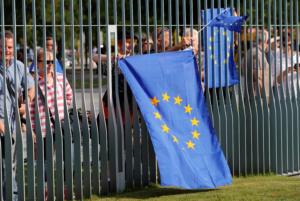Βερολίνο: «Σταματήστε το Brexit», φώναζαν διαδηλωτές στον Μπόρις Τζόνσον