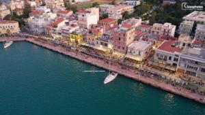 Χίος: Ο μεγαλύτερος χορός του Αιγαίου – Ήχοι, χρώμα και παράδοση στο λιμάνι – video