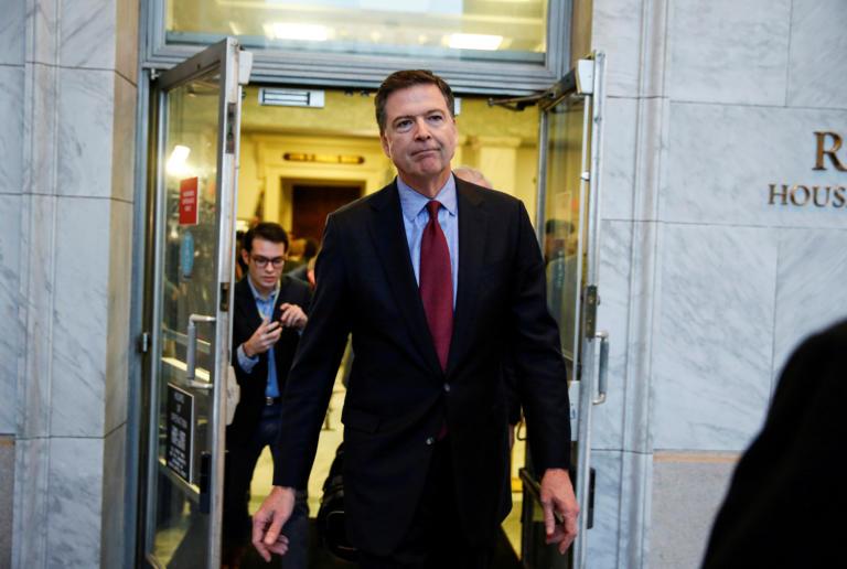 Έκθεση – κόλαφος για τον πρώην διευθυντή του FBI! Οι σχέσεις με τον Τραμπ