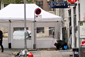 Νέος συναγερμός στην Κοπεγχάγη! Ισχυρή έκρηξη σε αστυνομικό τμήμα [pics]