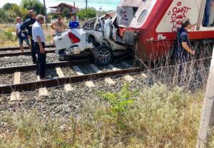 Τραγωδία στη Θεσσαλονίκη! Νεκρή η έγκυος από το τροχαίο με το τρένο!