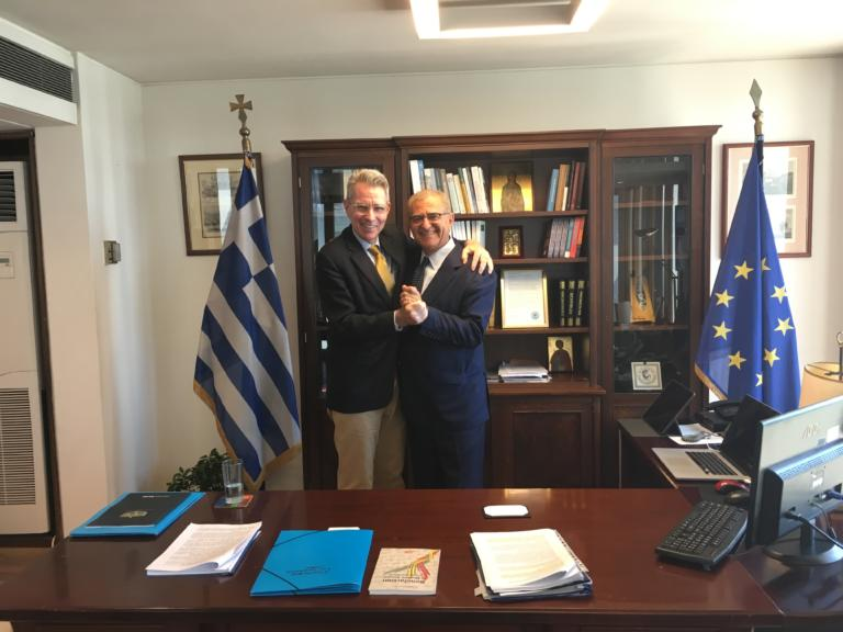 Διαματάρης – Πάιατ: Άριστο το επίπεδο των ελληνοαμερικανικών σχέσεων