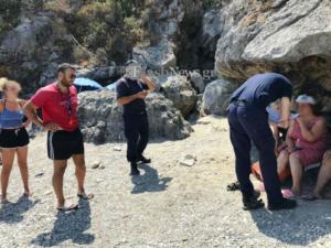 Ρέθυμνο: Την παρέσυρε το κύμα και παραλίγο να βρεθεί στη… Γαύδο! Αγωνιώδης προσπάθεια διάσωσης
