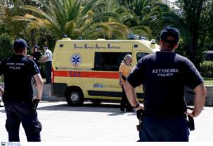Θεσσαλονίκη: Γυναίκα έπεσε από τον πρώτο όροφο πολυκατοικίας!