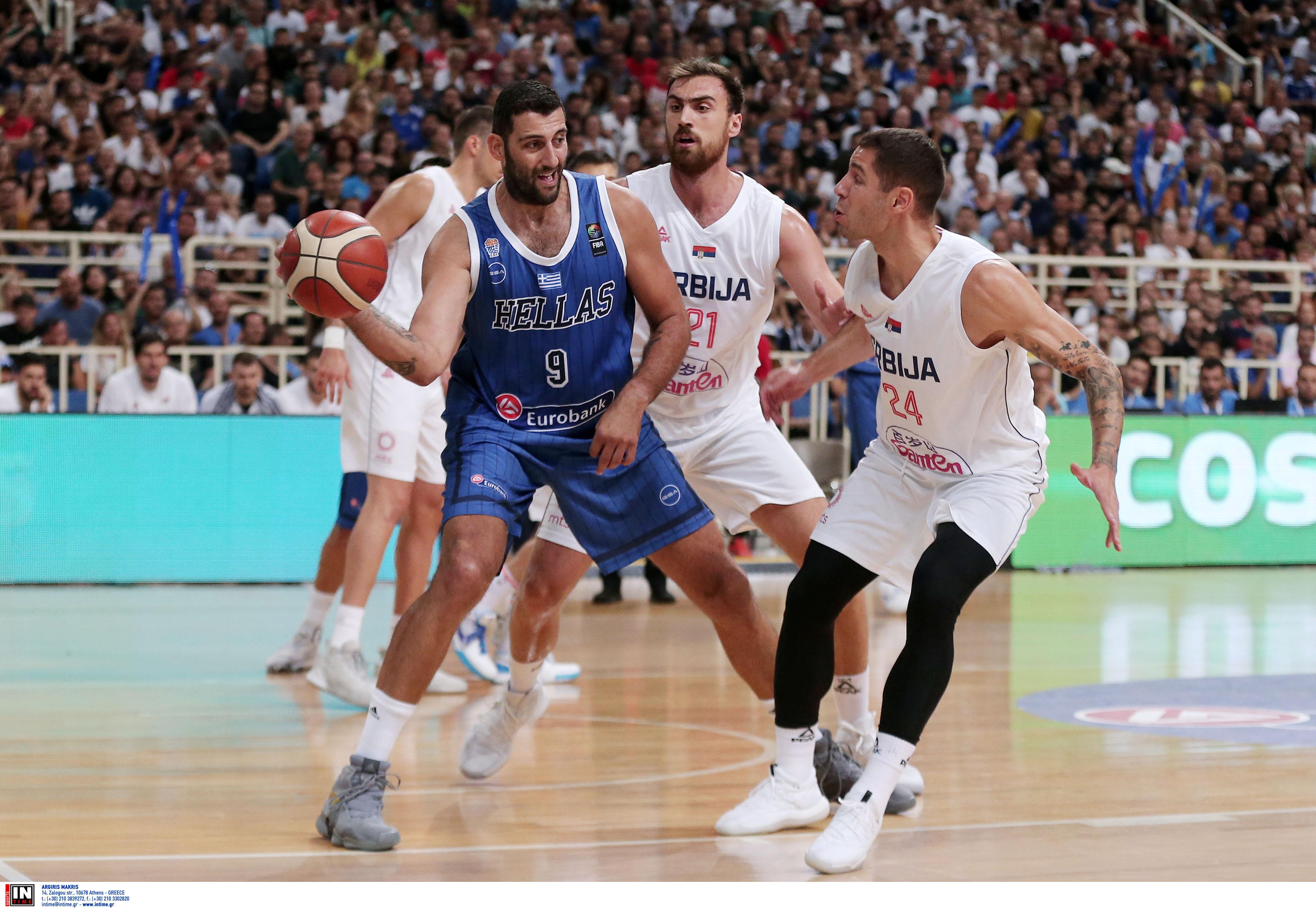 Ελλάδα – Σερβία 80-85 ΤΕΛΙΚΟ: Οι Σέρβοι κατέκτησαν το τουρνουά Ακρόπολις