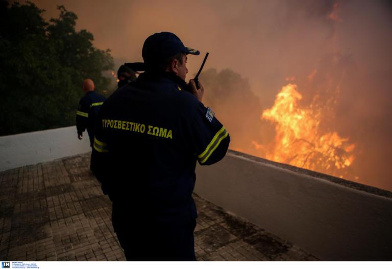 Ο δείκτης επικινδυνότητας της πυρκαγιάς στην Εύβοια