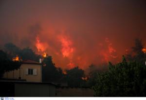 Εύβοια: Το χειρότερο σενάριο από το Meteo για τη μεγάλη φωτιά στην περιοχή