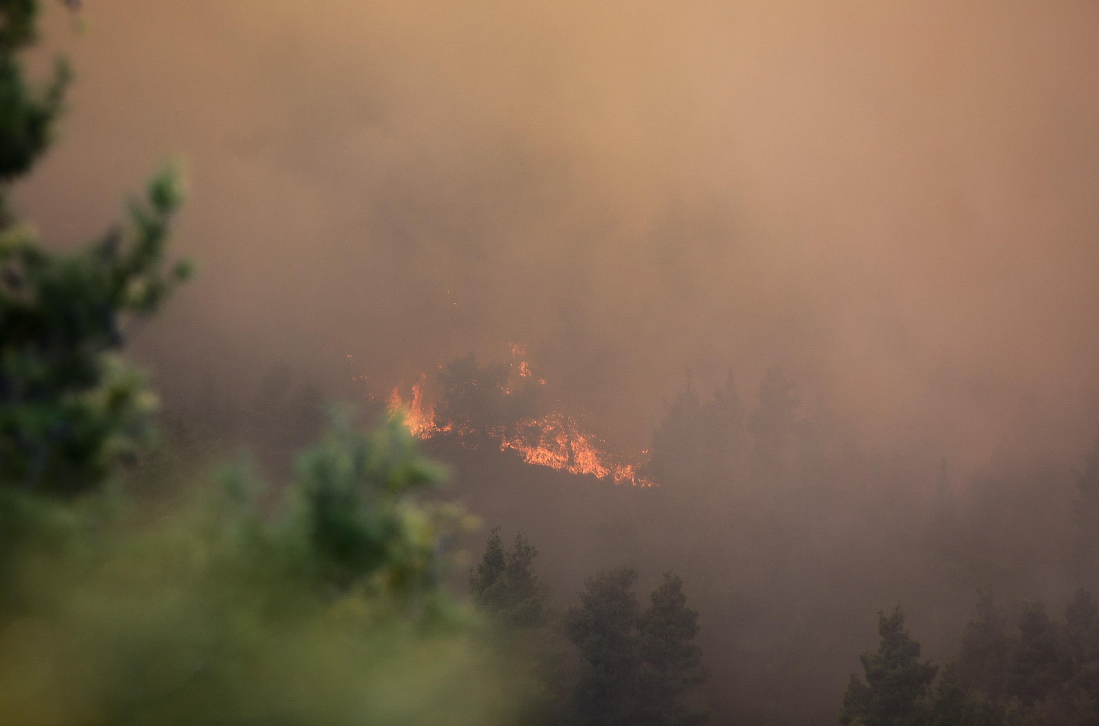 Μεγάλη φωτιά στο Δέλβινο Αλβανίας – Ζητήθηκε η συνδρομή της Ελλάδας