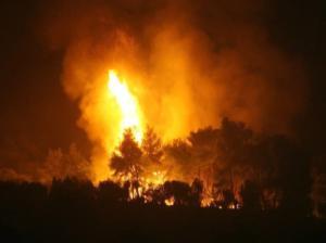 Συναγερμός στην Αχαΐα! Τρεις φωτιές σε εξέλιξη σε διαφορετικά σημεία!