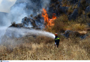 """Πυροσβεστική: 67 πυρκαγιές σε όλη τη χώρα την Δευτέρα! Ποιες περιφέρειες παραμένουν στο """"κόκκινο"""""""
