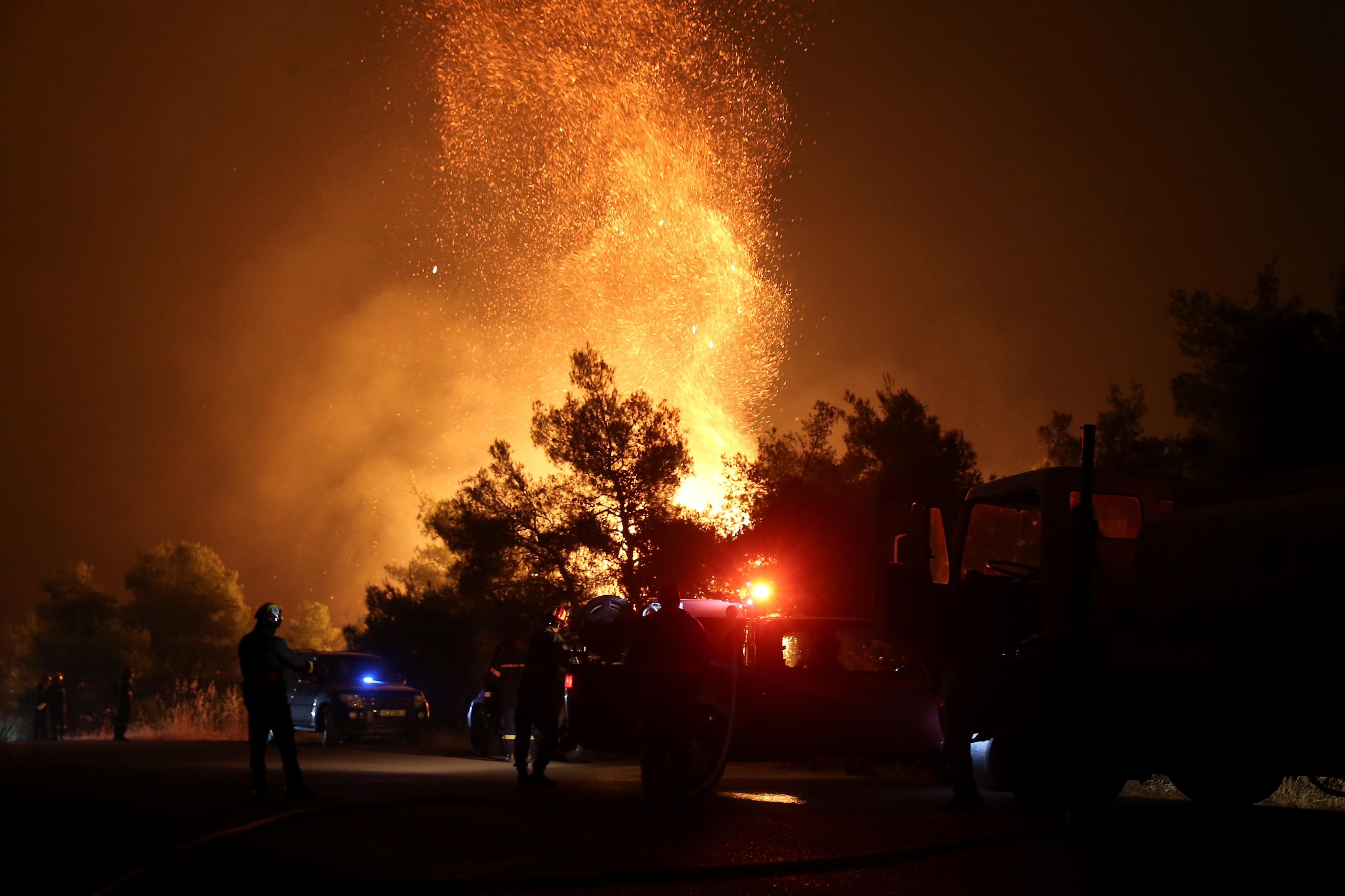 Φωτιά Εύβοια: Έργο εμπρηστών η καταστροφική πυρκαγιά;