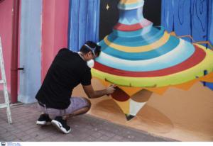 Η… μαγεία του γκράφιτι