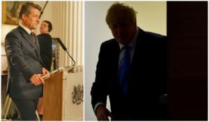 Brexit: Δημόσια… βρισίδια του Χιου Γκραντ εναντίον του Μπόρις Τζόνσον!