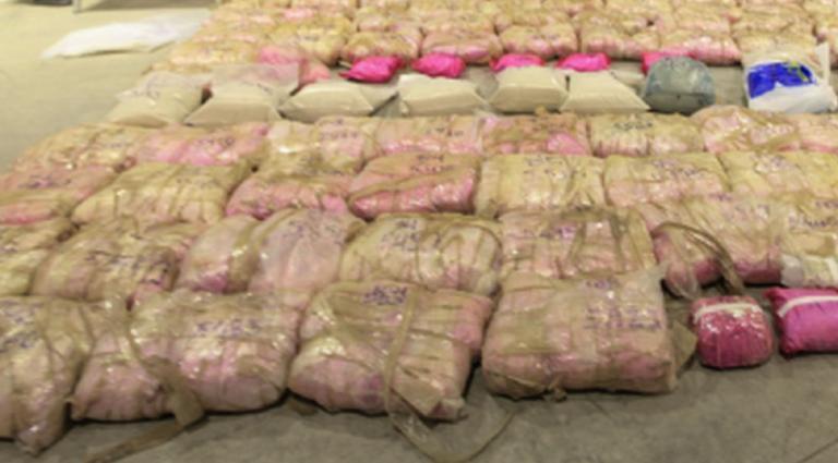 400 κιλά ηρωίνης βρέθηκαν κρυμμένα σε εμπορευματοκιβώτιο! Ήταν κάτω από πετσέτες και μπουρνούζια!