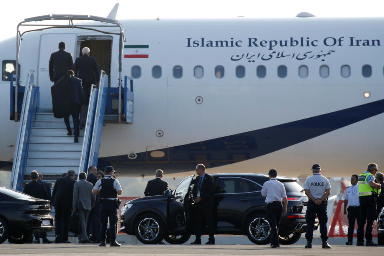 G7 – Ιρανός ΥΠΕΞ: Συνάντησα τον Μακρόν με τη σύμφωνη γνώμη των ΗΠΑ
