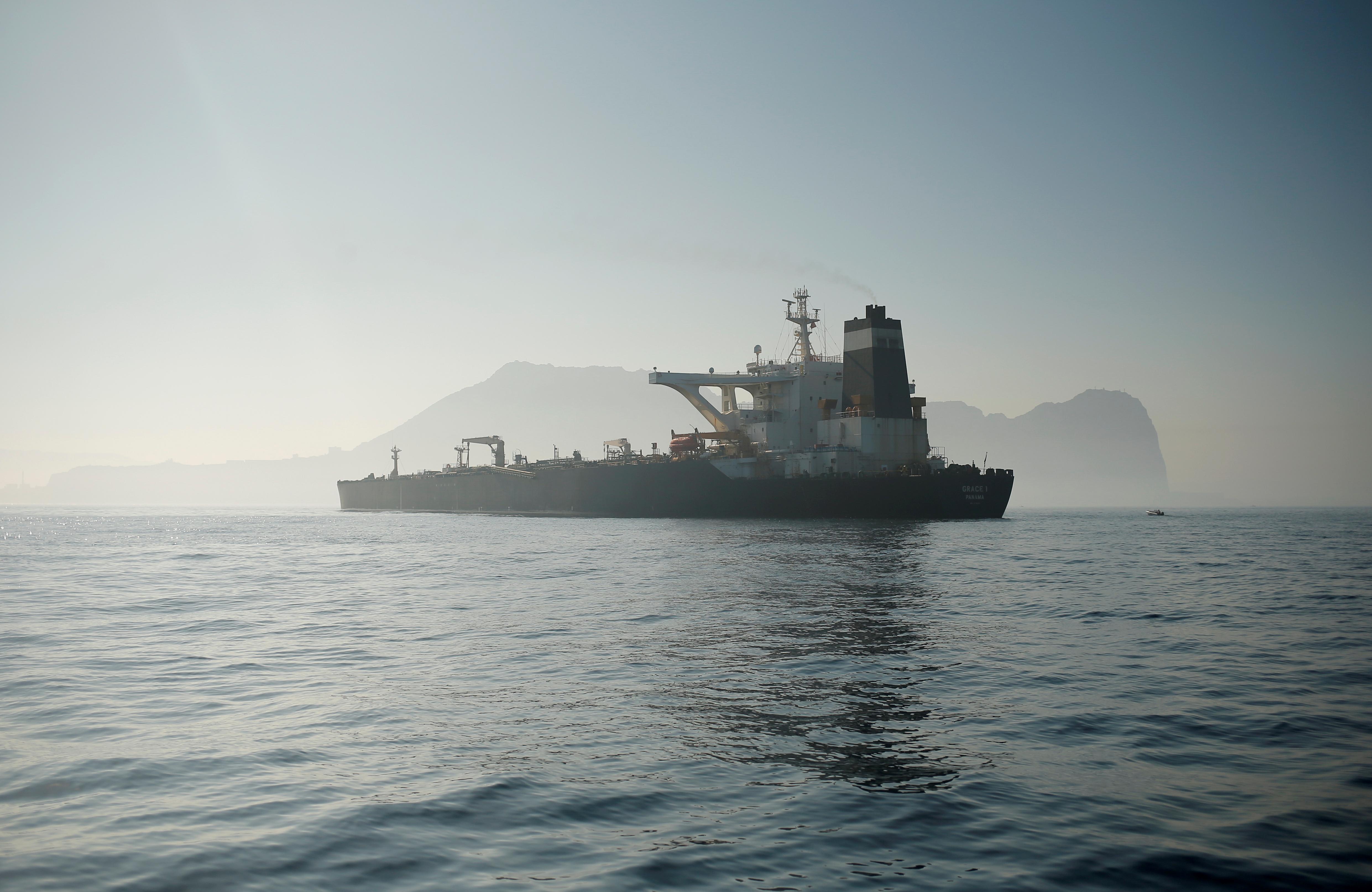 Γιβραλτάρ: Όταν είναι έτοιμο θα αποπλεύσει το ιρανικό τάνκερ