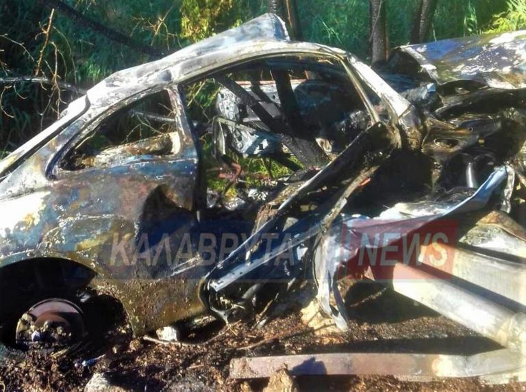 Καλάβρυτα: Κι όμως βγήκε ζωντανός από αυτό το αυτοκίνητο!