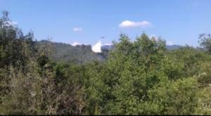 Μεγάλη πυρκαγιά ξέσπασε στην ορεινή Ξάνθη