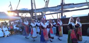 Κέρκυρα: Στο Παλιό λιμάνι έδεσε το 40μετρο ξύλινο σκάφο του Κατάρ