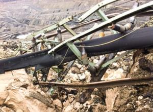 Κατολίσθηση ορυχείου στο Προσήλιο Κοζάνης