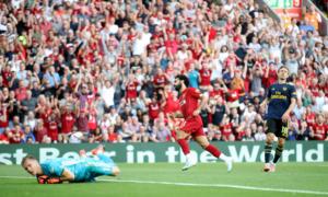 """Λίβερπουλ για πρωτάθλημα! Με σούπερ Σαλάχ """"διέλυσε"""" την Άρσεναλ – video"""