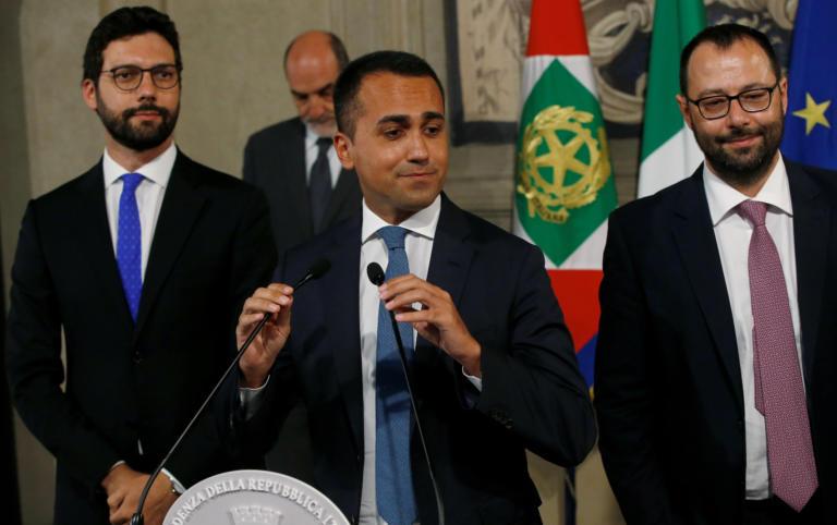 Ιταλία: Προϋποθέσεις για συγκρότηση κυβέρνησης θέτει ο Ντι Μάιο