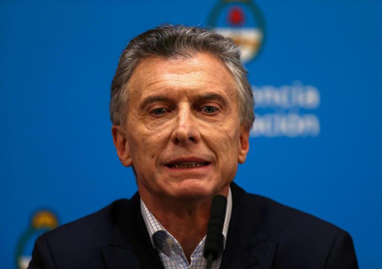 Αργεντινή: Μειώσεις φόρων και αυξήσεις επιδοτήσεων ανακοίνωσε ο πρόεδρος Μάκρι