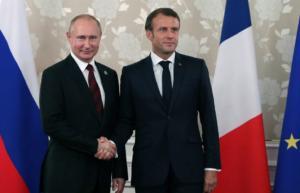 Γαλλία: Συνάντηση Μακρόν – Πούτιν στη θερινή κατοικία