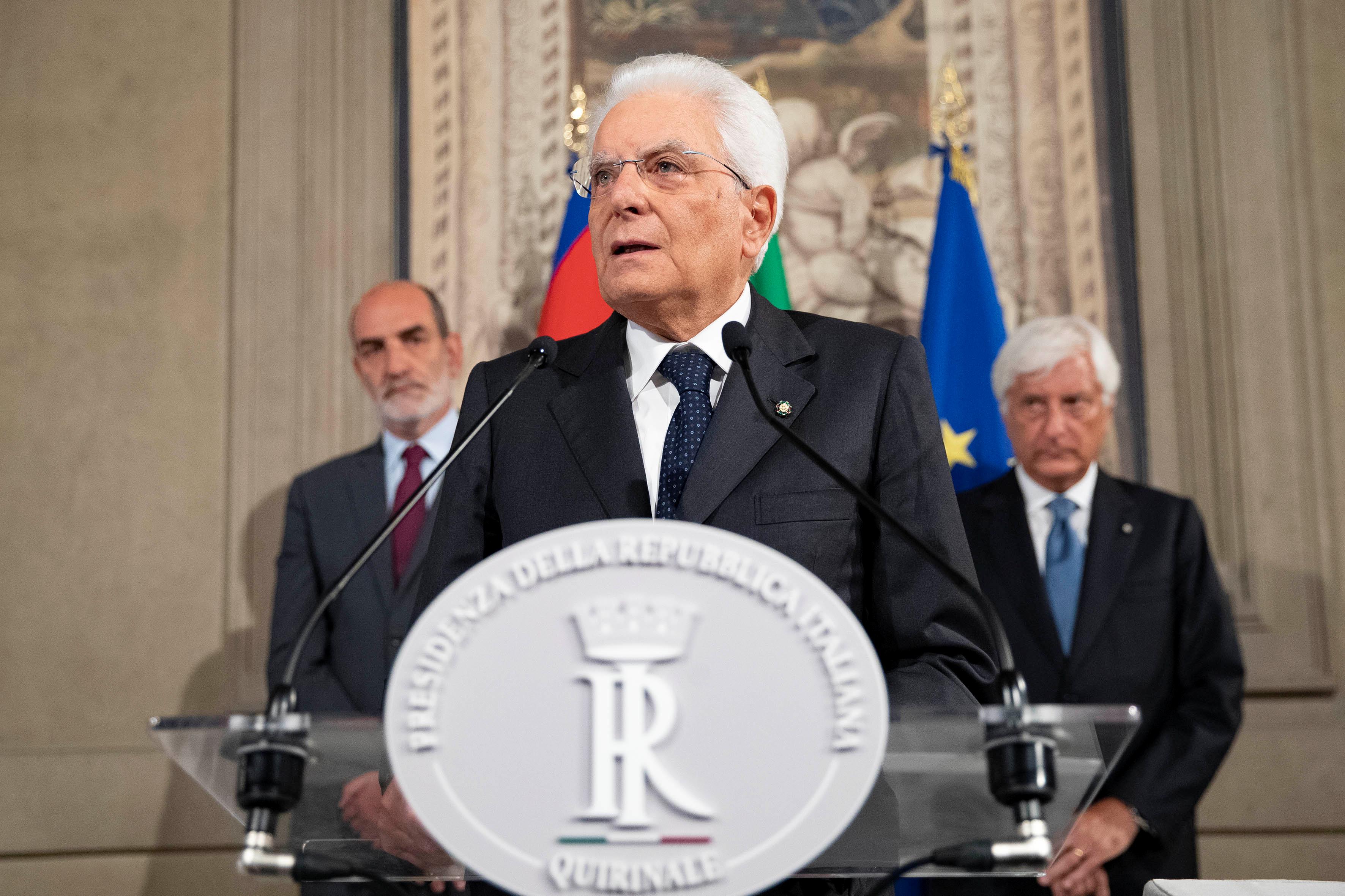 Ιταλία: O Σέρτζιο Ματαρέλα ψάχνει να νοικιάσει σπίτι στη Ρώμη