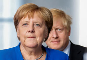 Brexit: Αισιόδοξη η Μέρκελ για συμφωνία με τη Βρετανία στο θέμα των συνόρων