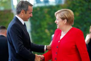 """Μητσοτάκης στο Βερολίνο: Η """"κωλοτούμπα"""" και η… πράσινη συμφωνία!"""