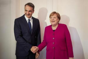 Η καγκελαρία ανακοίνωσε επίσημα τη συνάντηση Μητσοτάκη – Μέρκελ