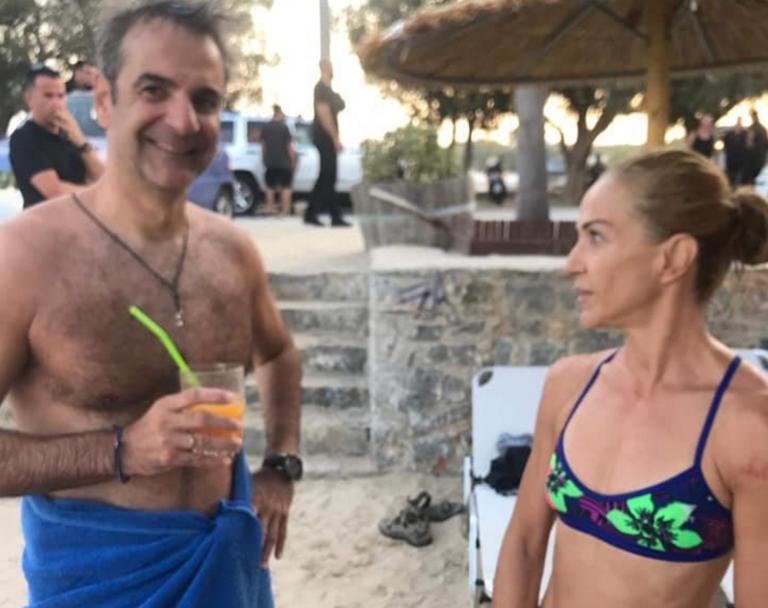 Χανιά: Εξέπληξε τους πάντες ο Κυριάκος Μητσοτάκης – Νέες εικόνες από τις διακοπές του πρωθυπουργού [pics]