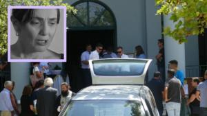 Θλίψη στην κηδεία της ηθοποιού Ελισάβετ Ναζλίδου [pics]