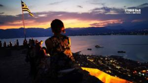 Πανσέληνος 2019: Μαγικές εικόνες από το Ναύπλιο και το Παλαμήδι – video