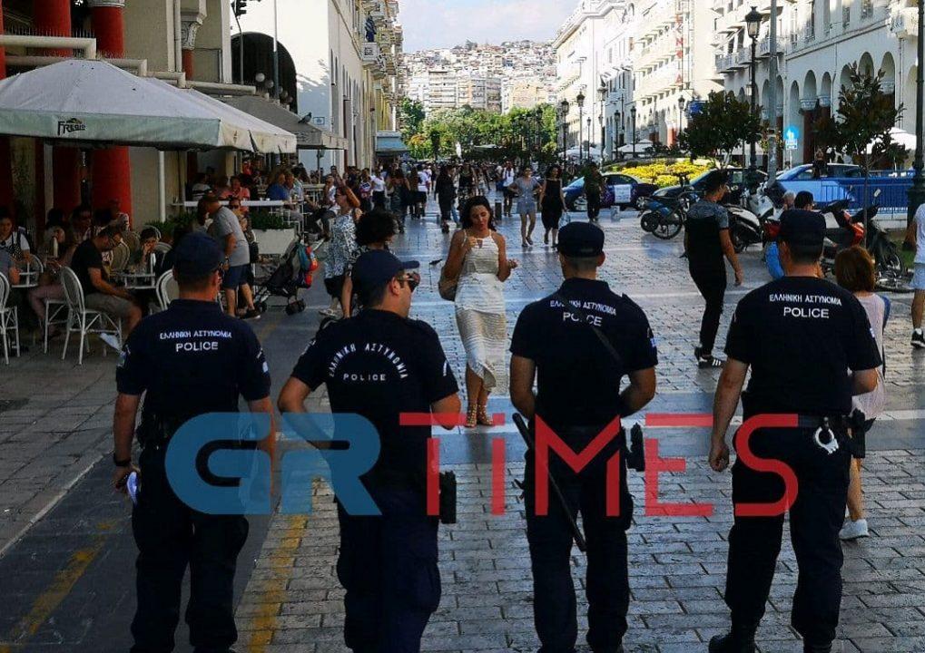 """Θεσσαλονίκη: Επίσημη """"πρώτη"""" για τους """"Πάνθηρες"""" της Αστυνομίας – Video"""