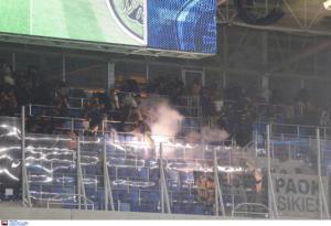 """Επεισόδια στο Σλόβαν Μπρατισλάβας – ΠΑΟΚ! Φώναξαν """"Ολυμπιακός"""""""