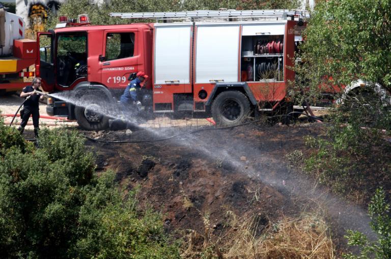 Φωτιά τώρα στην Κερατέα