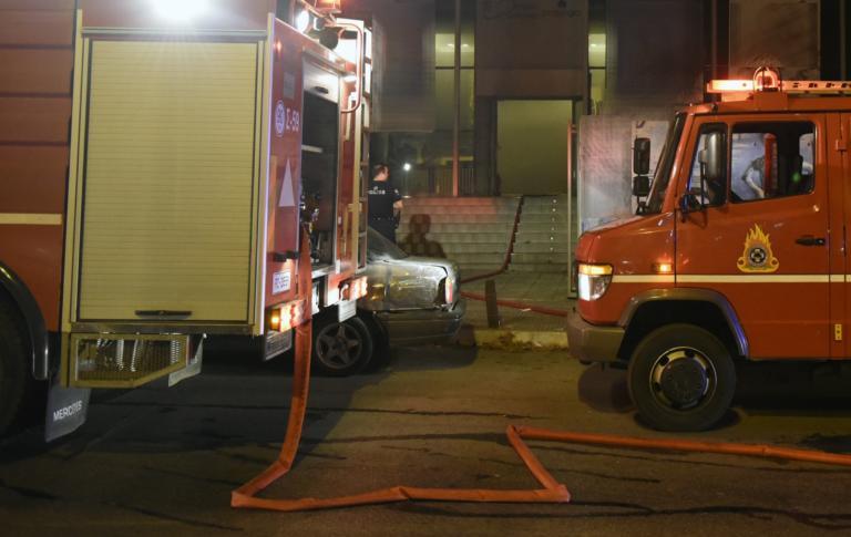 Χανιά: Έκλεψαν το περίπτερο και του έβαλαν φωτιά