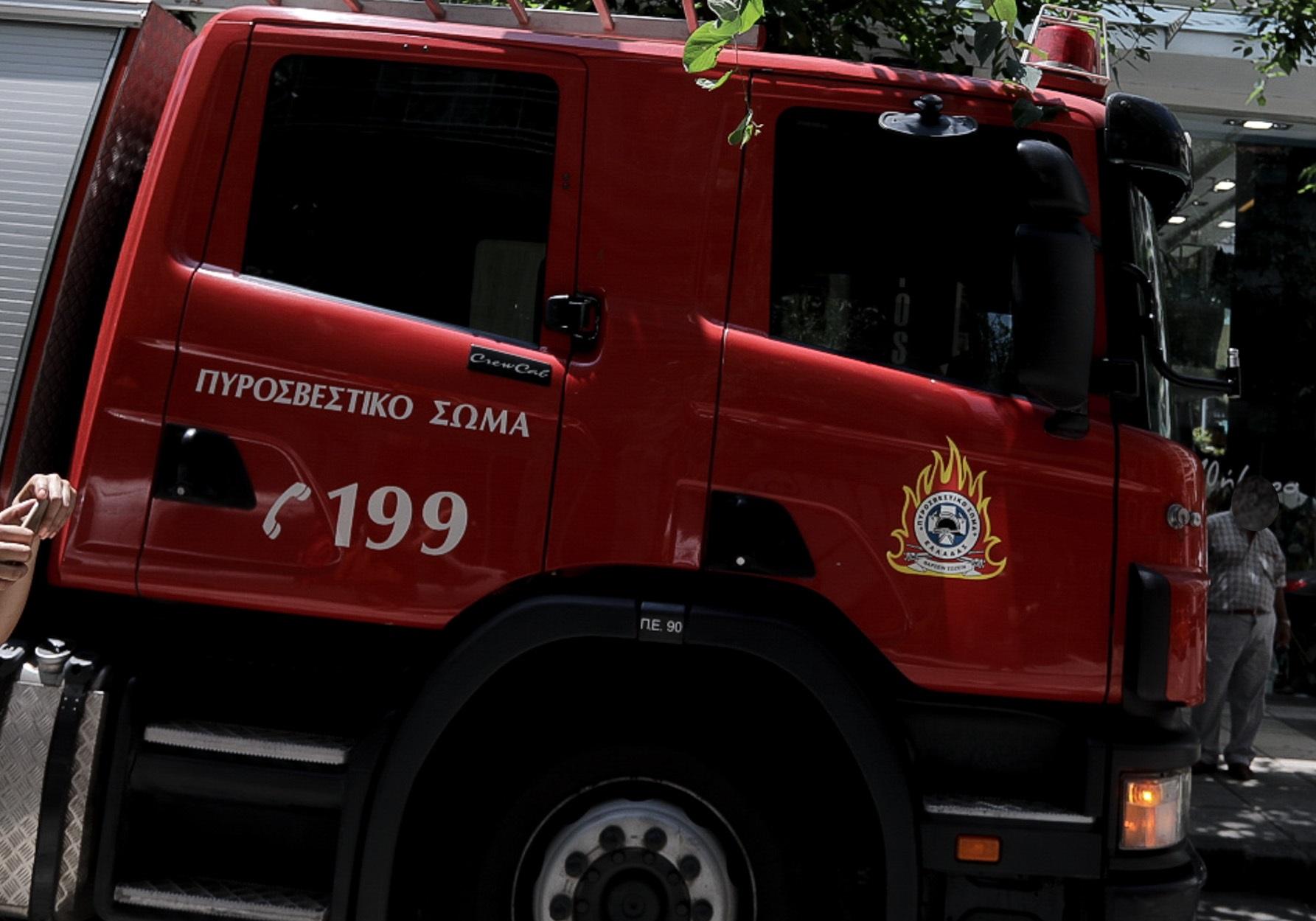 πυροσβέστες - ανατροπή οχήματος