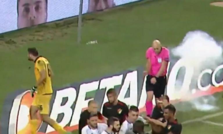 Europa League: Χτύπησαν διαιτητή! Διακόπηκε το ματς των… αντιπάλων της ΑΕΚ [pics]