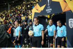 Europa League: Αυτοί σφυρίζουν ΑΕΚ, Άρη και Ατρόμητο!