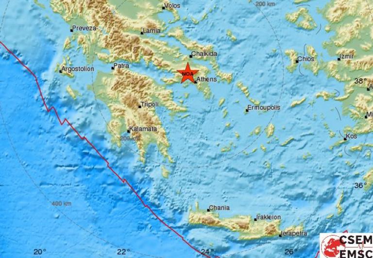 Σεισμός στην Αθήνα!