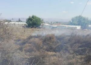 Φωτιά στη Νέα Κίο – Πλησιάζει τις παράγκες Ρομά [pics]