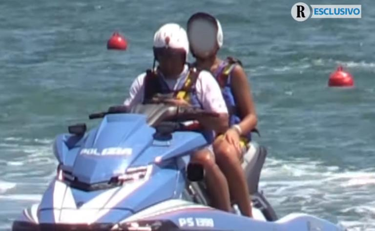 Σαλβίνι: Έρευνα για την… βόλτα του γιου του με τζετ σκι της αστυνομίας! video
